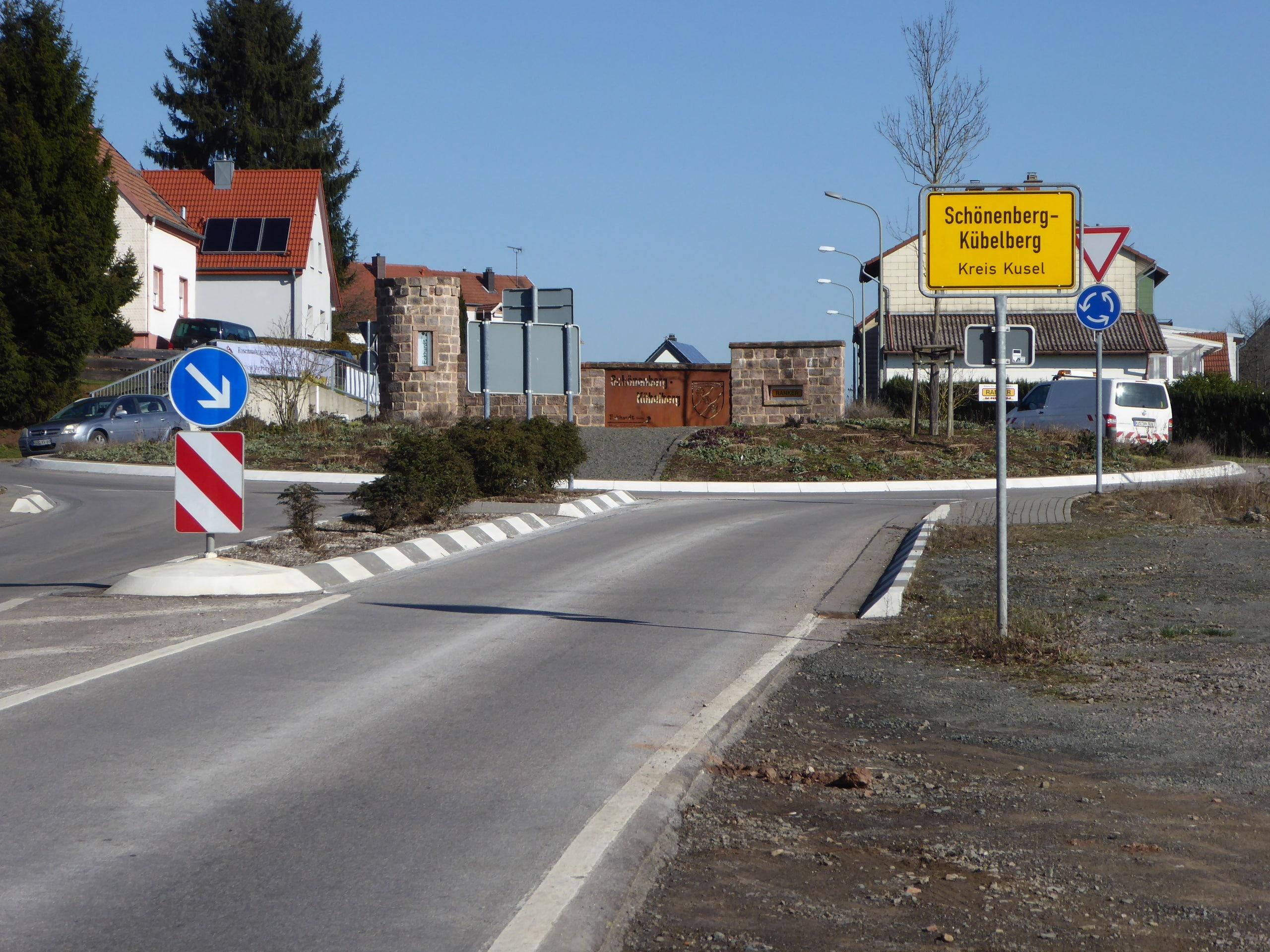 Ortseingang Kübelberg