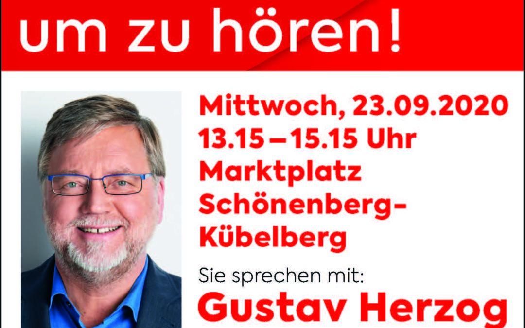 Gekommen um zu hören! mit Gustav Herzog
